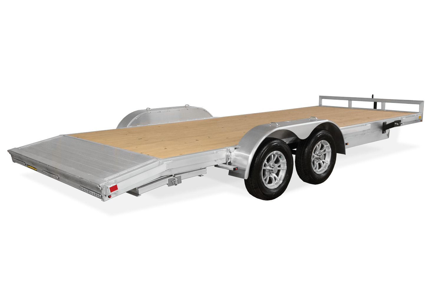 H&H Aluminum Flatbed Car Hauler with Dove