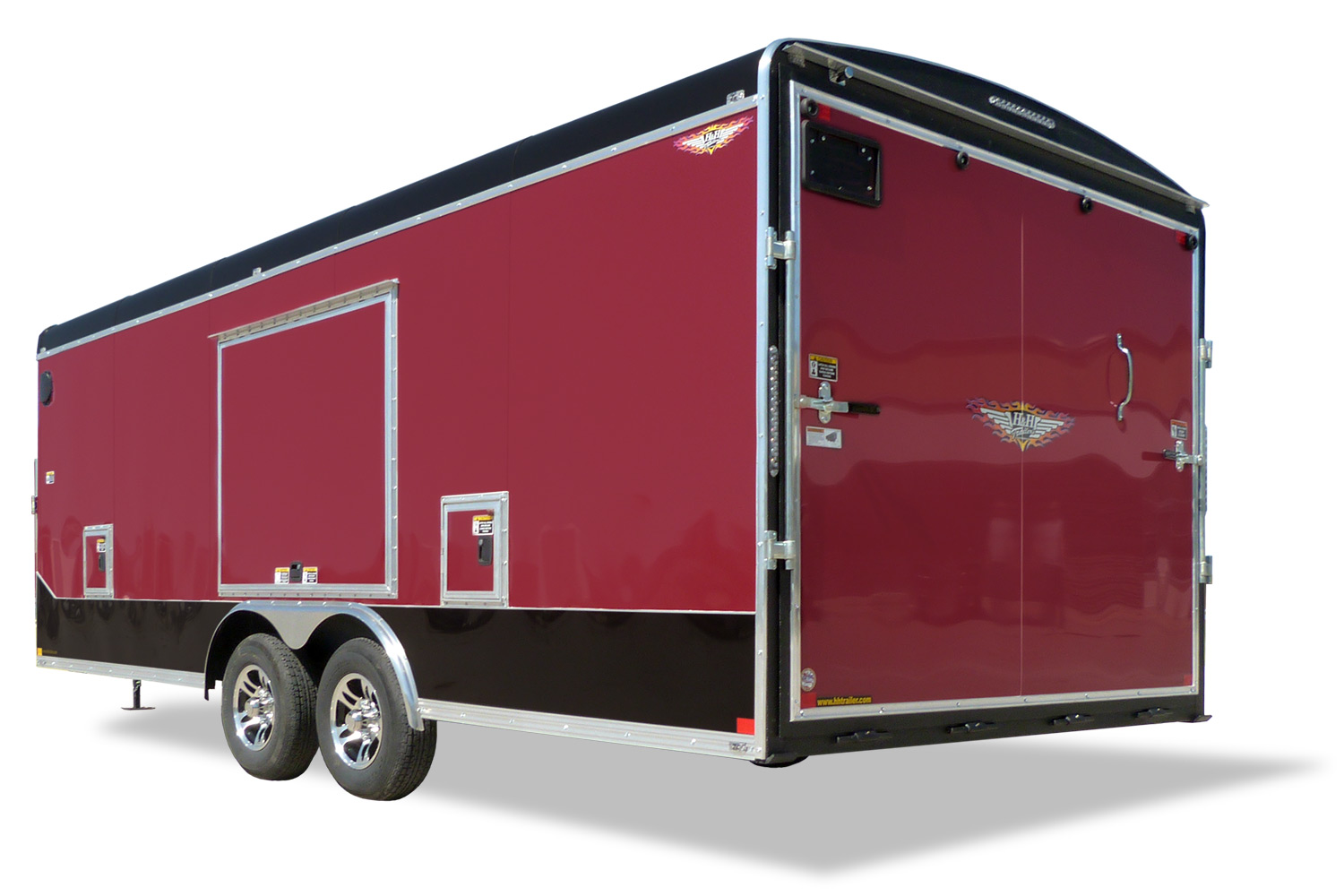 Combo Series Sled Car Hauler