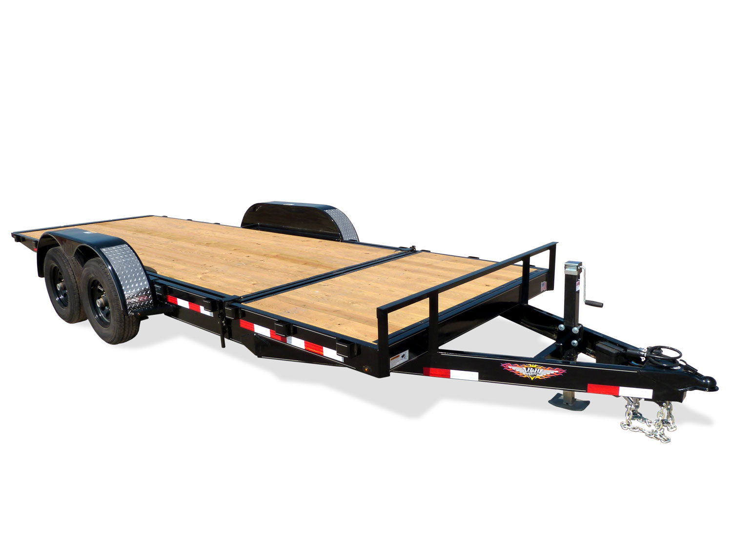 Gravity Tilt Equipment Trailer