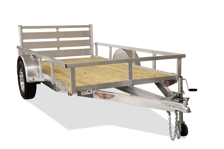 Aluminum Rail Side Utility Trailer