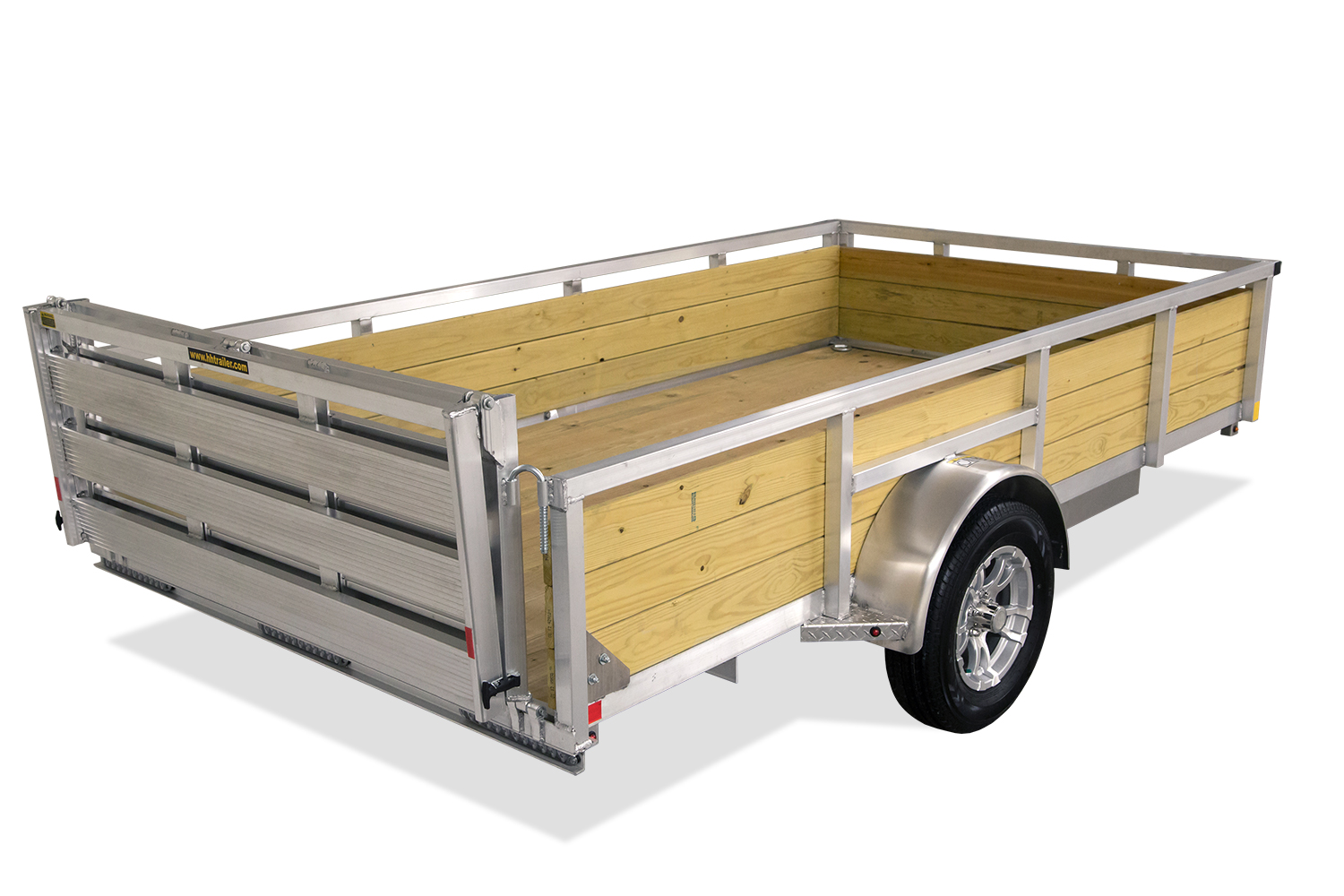 Aluminum Wood Side Utility
