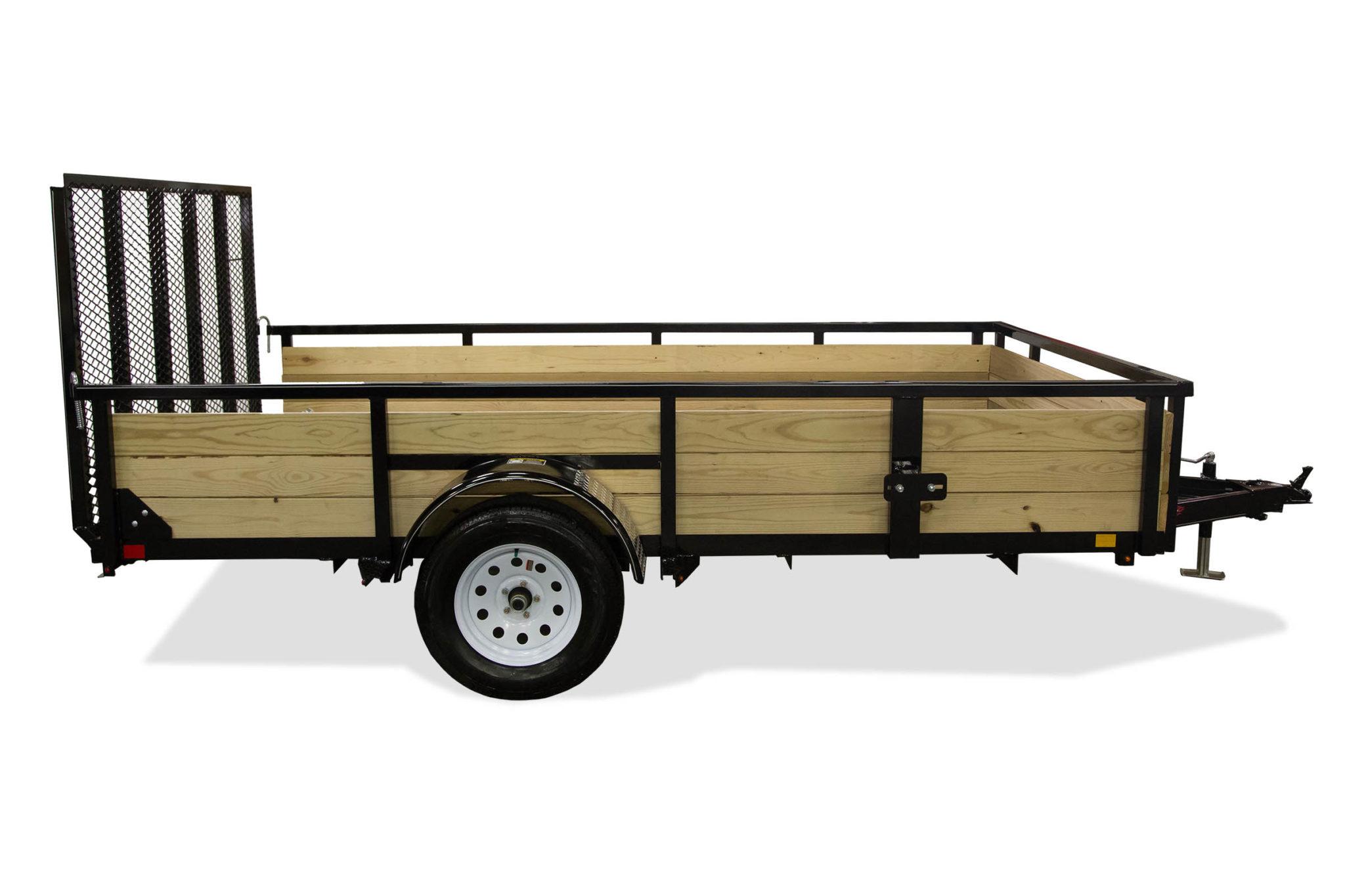 Wood Side Utility Trailer