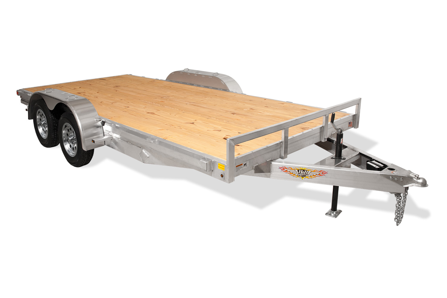 Aluminum Heavy Duty Flatbed