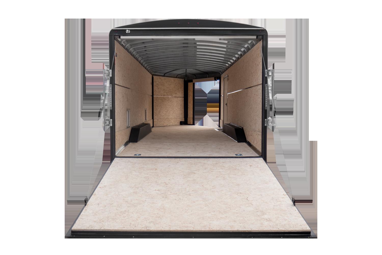 H&H Combo Sled Car Trailer Rear Ramp Door