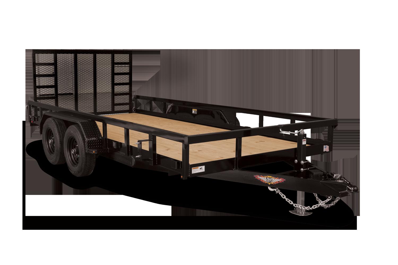 H&H Trailers Heavy Duty Rail Side Utility Hero Image