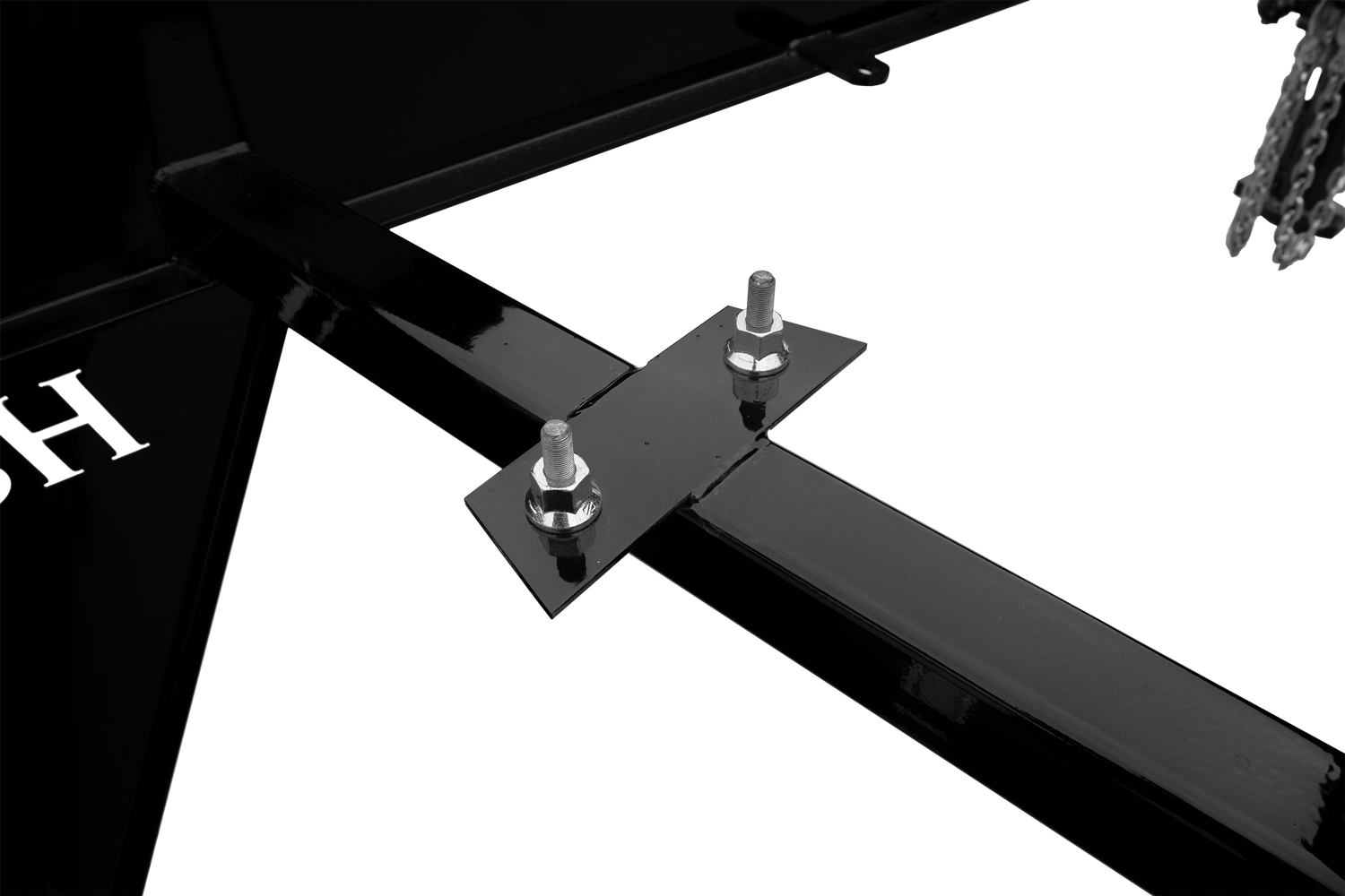 Deckover Spare Tire Carrier Recessed in the Neck