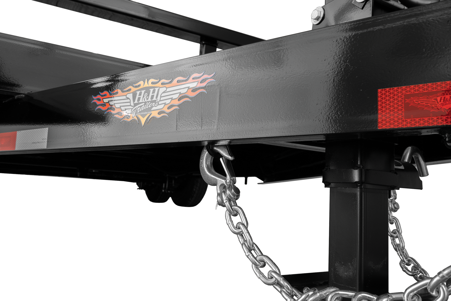 H&H Gravity Tilt Safety Chains and Holder
