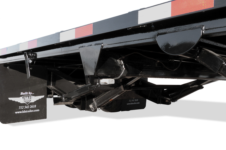 Hydraulic Tail Deckover Cylinder