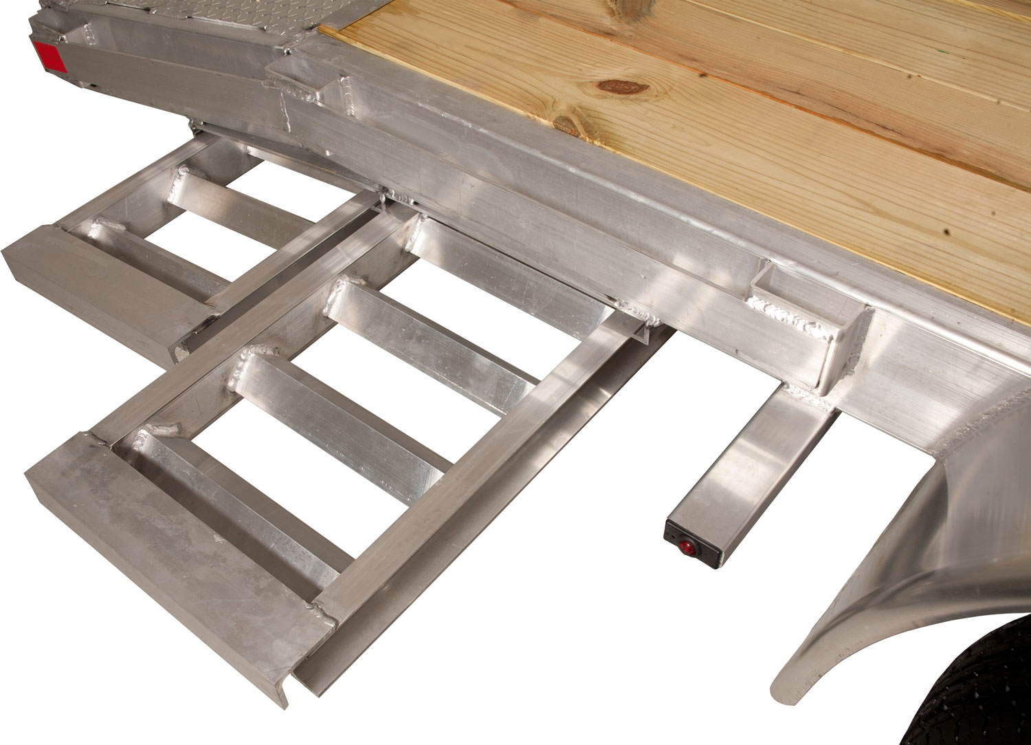 Aluminum Ramps in Carrier