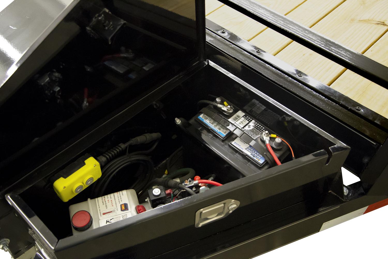 EX SpeedLoader Tilt Car Hauler Pump Box