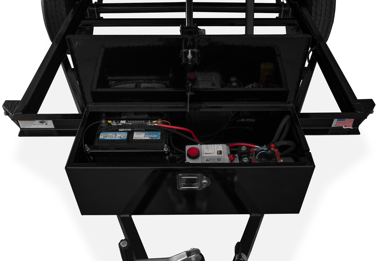 Pump and Battery Storage Box
