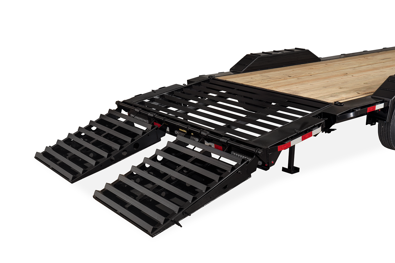 Full Width Industrial Dovetail & Ramps